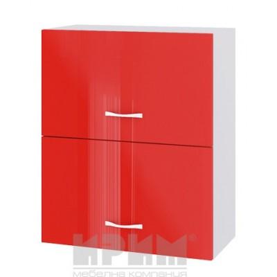CITY БЧ - 411 кухненски горен шкаф 60см с две хоризонтални врати