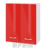 CITY БЧ - 403 кухненски горен шкаф 60 см с две врати и рафт