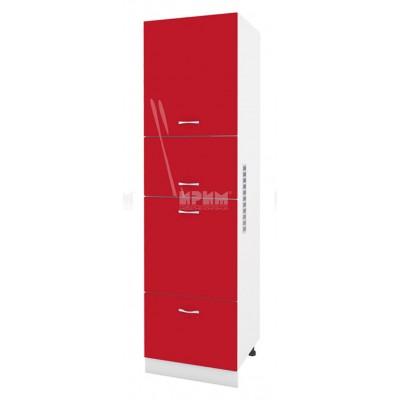 Колонен шкаф с 4 врати с възможност за вграждане на фурна Сити БЧ - 48