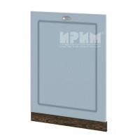 Врата за вградена съдомиялна 60 см Сити ВФ-Деним мат-06-39