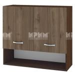 Горен кухненски шкаф 80 см с 2 врати и ниша Сити ВО - 8
