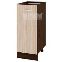 Сити ВА 40 Долен кухненски шкаф 35 см с една врата без ТУП