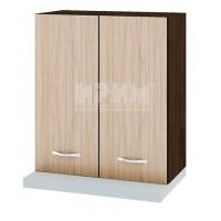 Горен кухненски шкаф с две врати за аспиратов 60 см Сити ВА 13