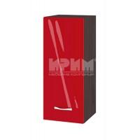 Горен кухненски шкаф 30 см с 1 врата Сити ВЧ - 1