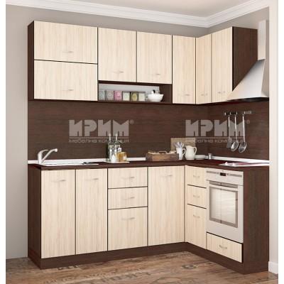 CITY 709 Ъглова кухня 2 м х 1.6 м