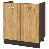 CITY ВД - 130 кухненски долен шкаф 80 см шкаф за бордова мивка