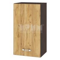 CITY ВД - 102 кухненски горен шкаф 40 см с врата и рафт (ляв/десен)