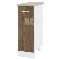CITY БЛ - 220 кухненски долен шкаф 30 см с врата и рафт(ляв/десен)