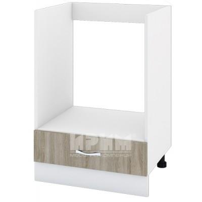CITY БС - 136 кухненски долен шкаф 60 см модул за фурна с чекмедже, без горен плот