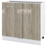 CITY БС - 142 кухненски долен шкаф 100 см за ъгъл без горен плот