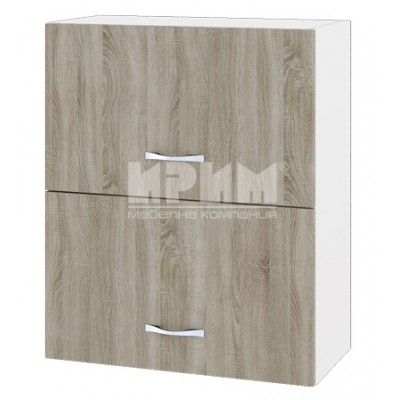 CITY БС - 111 кухненски горен шкаф 60 см с две хоризонтални врати