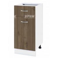 Долен кухненски шкаф 40 см с чекмедже и врата Сити БО - 24