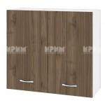 Горен кухненски шкаф 80 см с 2 врати Сити БО - 4