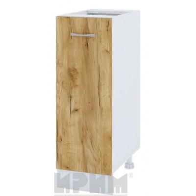 CITY БДД 20 кухненски долен шкаф 30 см с една врата - без горен плот