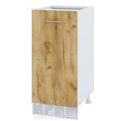 CITY БДД 21 кухненски долен шкаф 40 см с една врата