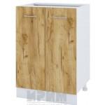 CITY БД - 322 кухненски долен шкаф 60 см с две врати - без горен плот