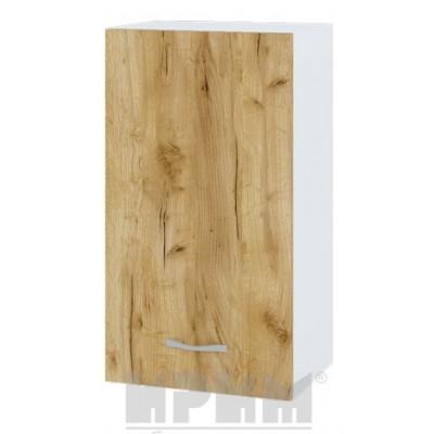 CITY БДД 2 кухненски горен шкаф 40 см с врата и рафт (ляв/десен)