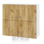 CITY БДД 12 кухненски горен шкаф 80 см с две хоризонтални врати