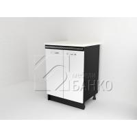 Долен кухненски шкаф с две врати Д1