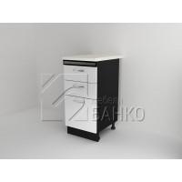 Долен кухненски шкаф с три чекмеджета Д6