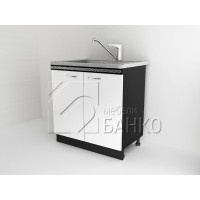Долен кухненски шкаф за бордова мивка Д2