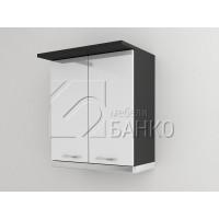 Горен кухненски шкаф за аспиратор с две врати Г4