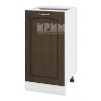 БФ-03-78 кухненски долен шкаф 45 см без горен плот - ляв