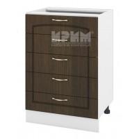 БФ-03-29 кухненски долен шкаф 60 см с 5 чекмеджета, без горен плот