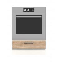 Долен кухненски шкаф за фурна за вграждане 60 см без термо-устойчив плот АЛИС В7