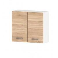 Горен кухненски шкаф 80 см с две врати АЛИС G13