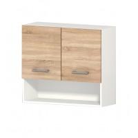 Горен кухненски шкаф 80 см с две врати АЛИС G15