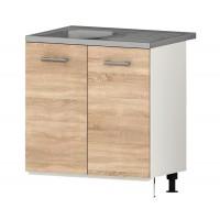 Долен кухненски шкаф за бордова мивка 80 см АЛИС В3