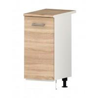 Долен кухненски шкаф 40 см с една врата с термо-устойчив плот АЛИС В5