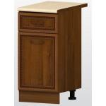 РАВЕНА В 4 долен кухненски шкаф 40 см с чекмедже и врата