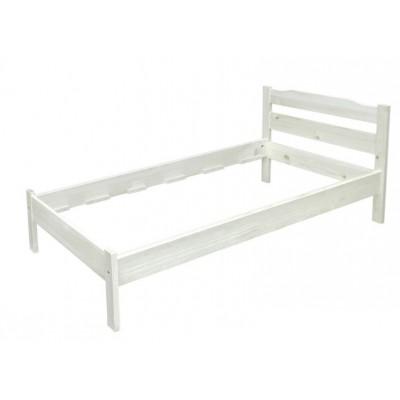 Легло масив бяло