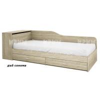 Единично легло с чекмеджета и ракла Сити 2005