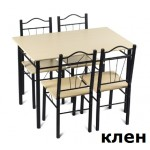 Комплект маса и четири стола Carmen 20009