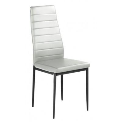 К 70 стол бяла еко кожа