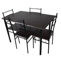 Комплект маса и четири стола ХД 3