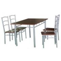 Комплект маса и четири стола ХД