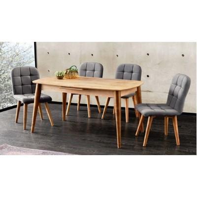 Разтегателна Маса + 4 стола Retro