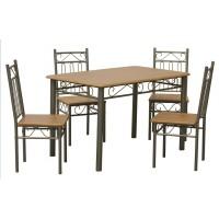 Комплект маса и четири стола JX-024