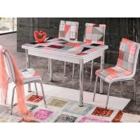 Разтегателна Маса + 4 стола Dilara I