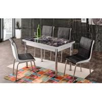 Разтегателна Маса + 4 стола Adana I