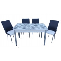 Разтегателна Маса + 4 стола Indji II