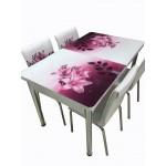 Разтегателна Маса + 4 стола Bergama II