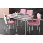 Комплект маса с 4 стола 1259/ Pedli 2960