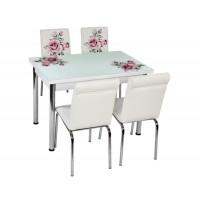 Комплект маса с 4 стола CB 011