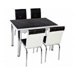 Комплект маса с 4 стола CB 054