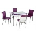 Комплект маса с 4 стола CB 071